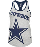 Women's Nike Dallas Cowboys NFL Dri-Fit Touchdown Tank