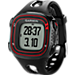 Front view of Garmin Forerunner 10 Watch in Black/Red
