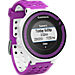Front view of Garmin Forerunner 220 GPS Enabled Watch and Heart Rate Monitor Bundle Pack in White/Purple