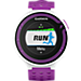 Back view of Garmin Forerunner 220 GPS Enabled Watch and Heart Rate Monitor Bundle Pack in White/Purple