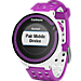 Alternate view of Garmin Forerunner 220 GPS Enabled Watch and Heart Rate Monitor Bundle Pack in White/Purple