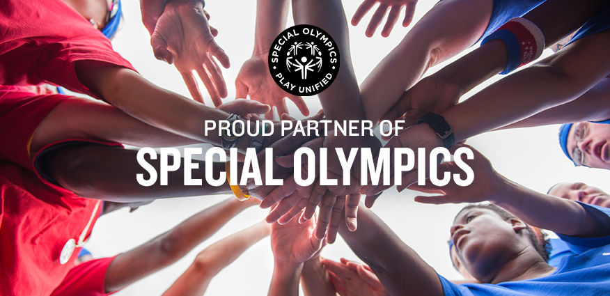 Finish Line is a Proud Partner of the Special Olympics