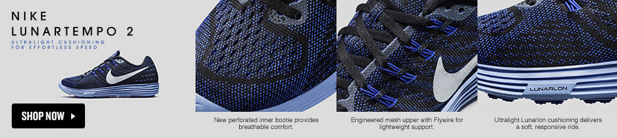 Nike Lunartempo 2. Ultralight Cushioning for Effortless Speed