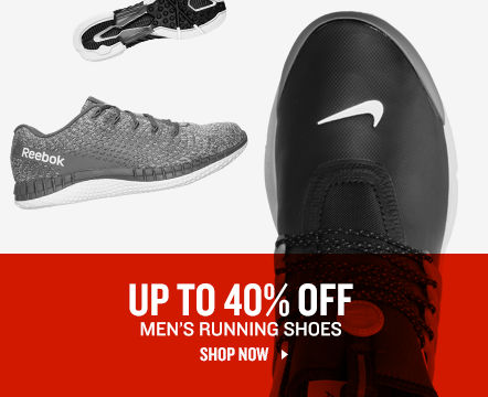 Up To 40% Off Men's Running Shoes. Shop Now.