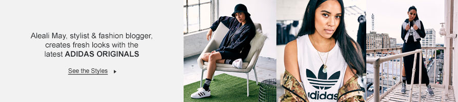 Aleali May Creates Fresh Looks With adidas Originals. See The Styles.
