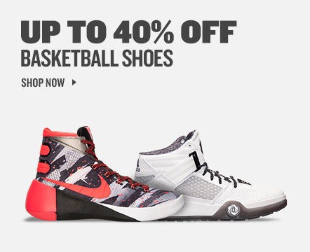 Basketball Shoes up to 40% off