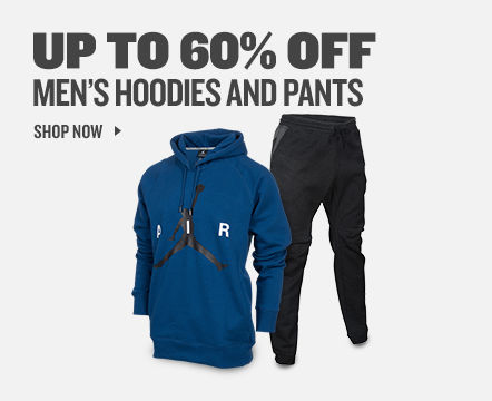 Men's Hoodies and Pants up to 60% off