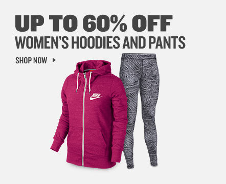 Women's Hoodies and Pants up to 60% off