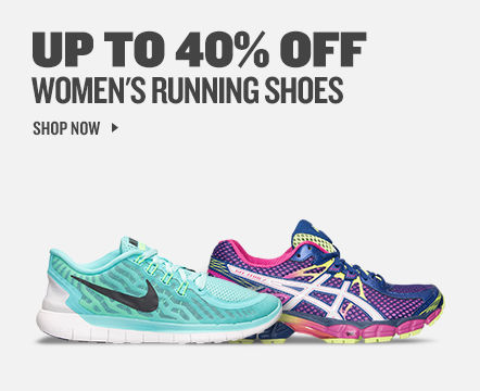 Women's Running Shoes up to 40% off
