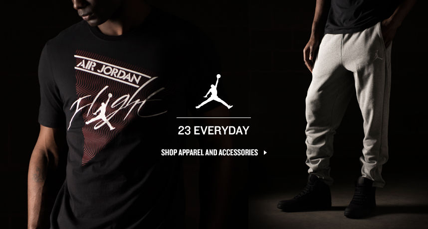 Shop Jordan Apparel and Accessories.
