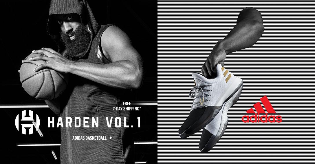 adidas Harden. Shop Now.