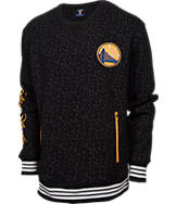 Men's Unk Golden State Warriors NBA Speckle Crew Sweatshirt