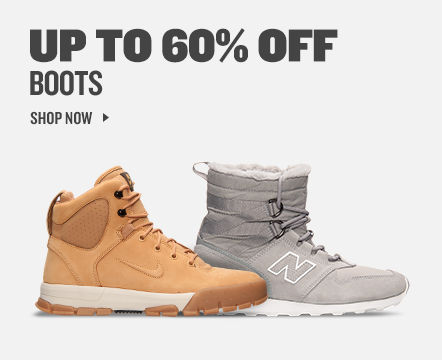 Boots up to 60% off