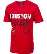 Men's Unk Houston Rockets NBA Lace Up T-Shirt