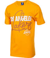Men's Unk Los Angeles Lakers NBA Lace Up T-Shirt