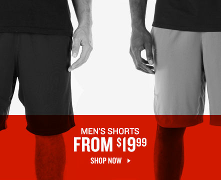 Men's Shorts From $19.99. Shop Now.