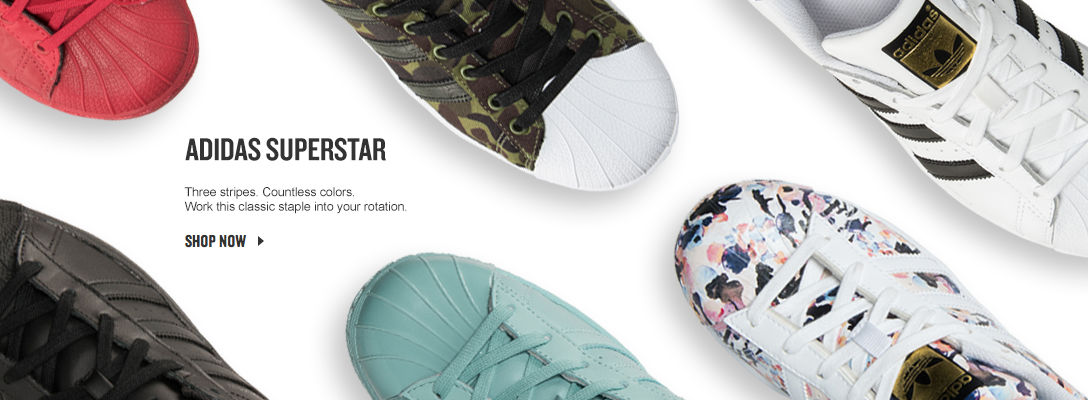 Adidas Superstar. Shop Now.
