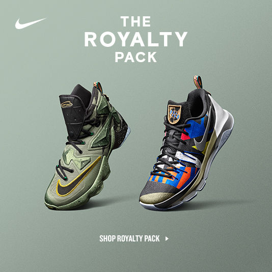 The Nike All Star Royalty Pack. Shop Now