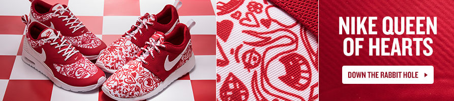 Girls' Nike Queen of Hearts Collection featuring Roshe and Thea