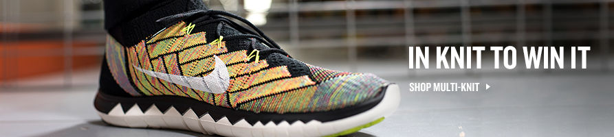 In Knit To Win It. Nike Flyknit Collection.