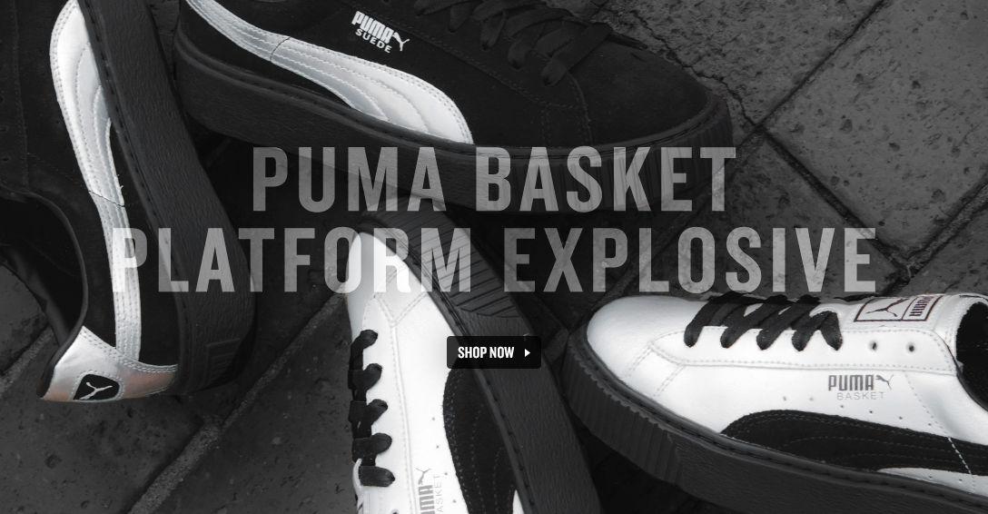 PUMA Basket Platform Explosive. Shop Now.