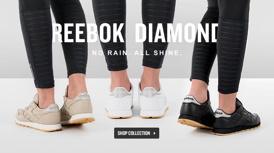 Reebok Diamond Pack. Shop Now.