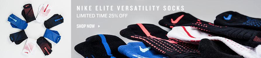 Shop Nike Versatility Socks.