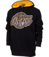 Men's Unk Los Angeles Lakers NBA Elephant Pullover Hoodie.