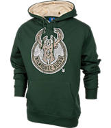 Men's Unk Milwaukee Bucks NBA Elephant Pullover Hoodie.