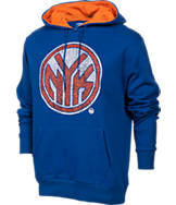 Men's Unk New York Knicks NBA Elephant Pullover Hoodie.