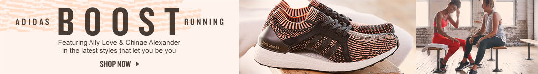Adidas Boost Running. Shop Now.