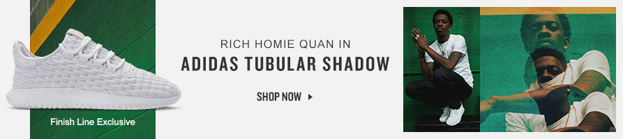 Rich Homie Quan in adidas Tubular Shadow. Shop Now.