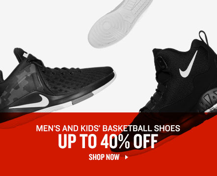 Men's and Kids' Basketball Shoes Up To 40% Off. Shop Now.
