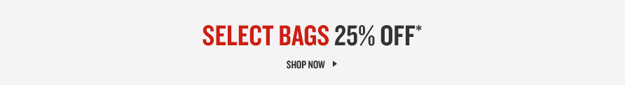 25% off bags. Shop now.