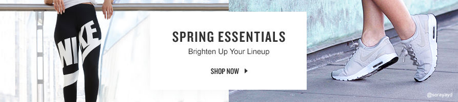 Spring Essentials. Shop Now.