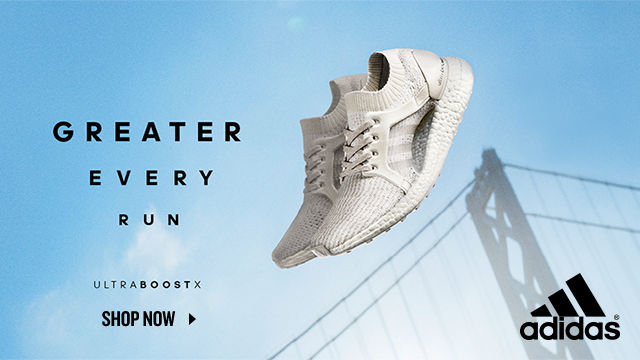 adidas UltraBoost X. Shop Now.
