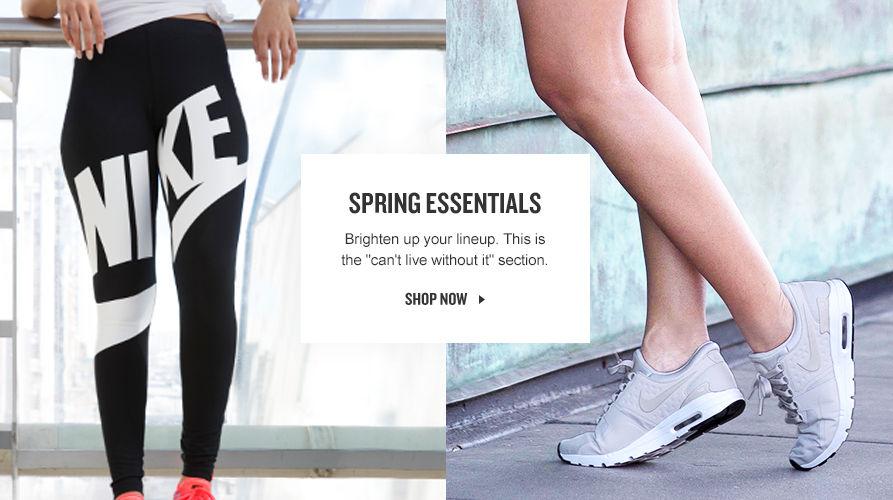 Spring Essentials. Shop Now.