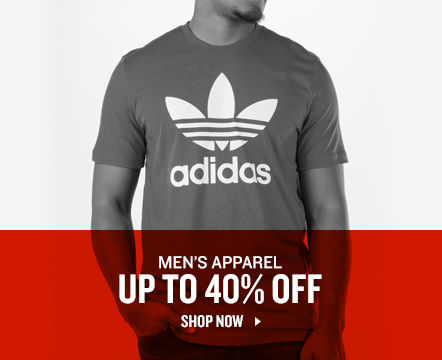 Men's Apparel Up To 40% Off. Shop Now.