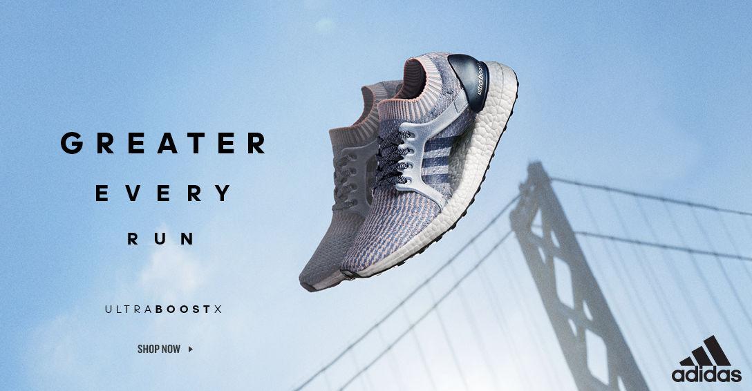 adidas UltraBoost X. Shop Now.