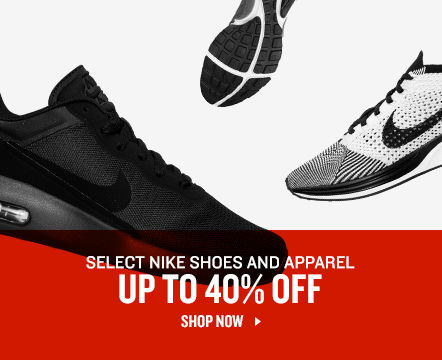 Nike Shoes & Apparel Up To 40% Off. Shop Now.