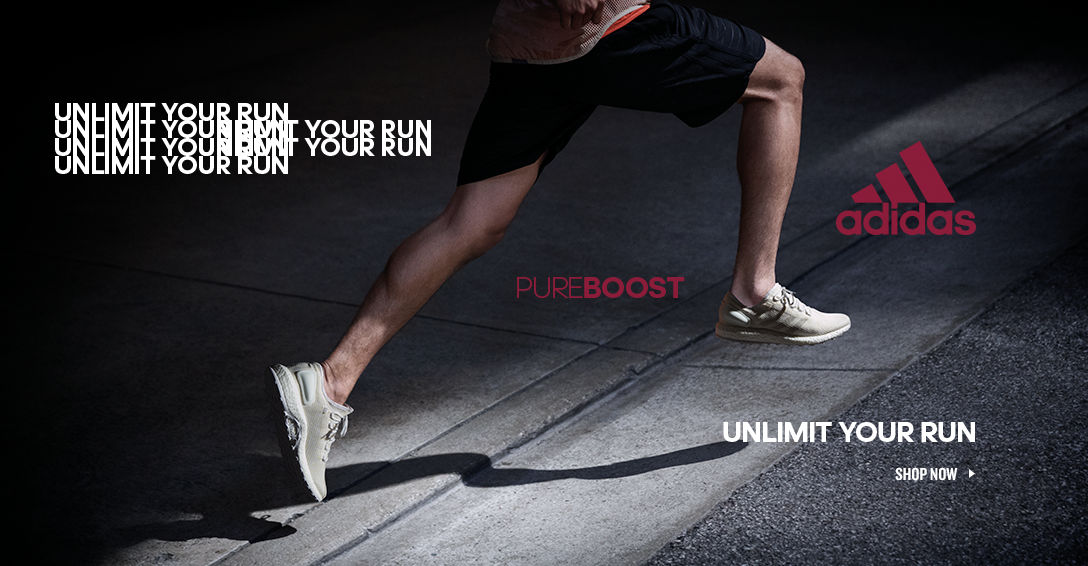 adidas PureBOOST. Shop Now.
