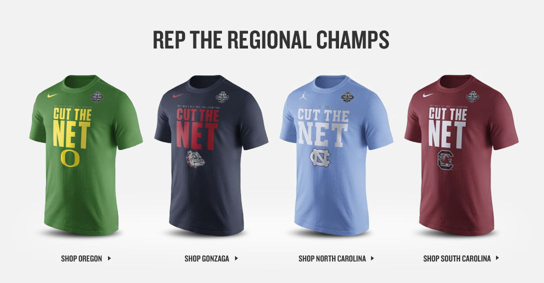 Rep The Regional Champs. Shop NCAA Gear.