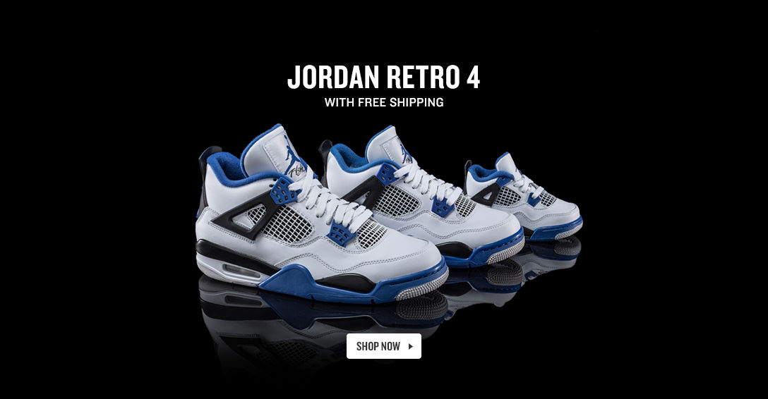Jordan Retro 4. Shop Now.