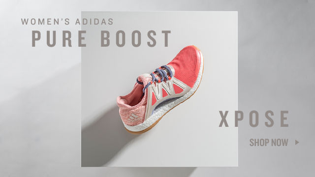 adidas Pure Boost X. Shop Now.