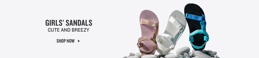 Girls' Sandals. Shop Now.