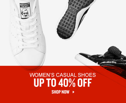 Women's Casual Shoes Up To 40% Off. Shop Now.