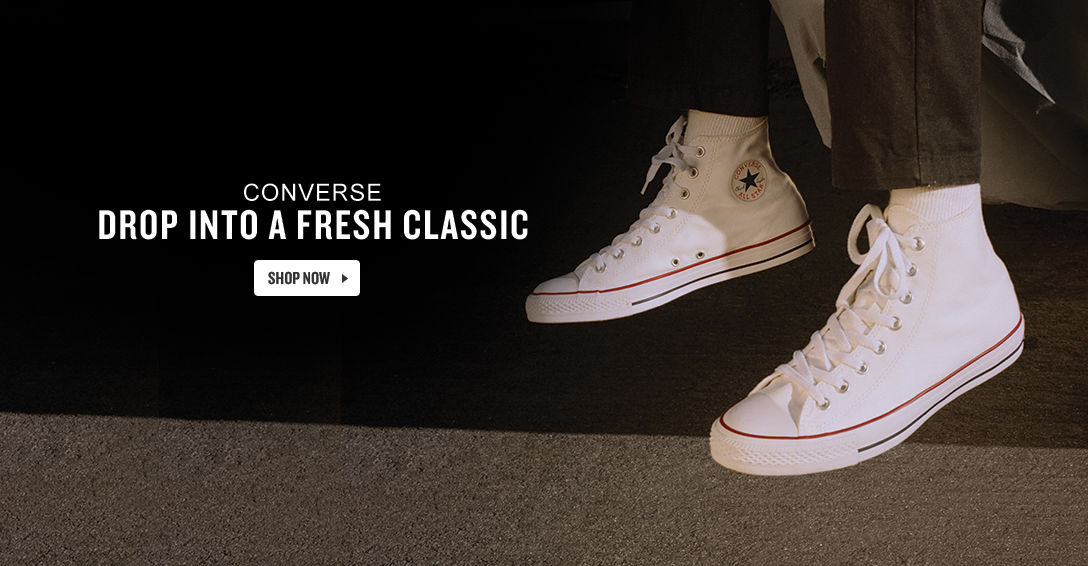 Converse Shoes. Shop Now.