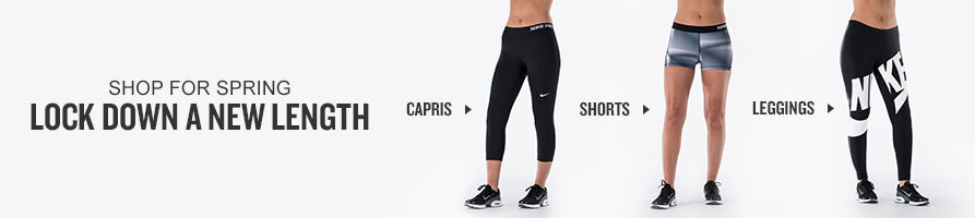 Shop Women's Capris, Shorts, and Leggings.
