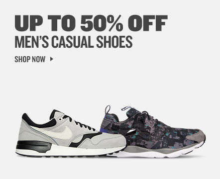 Men's Casual Shoes Up to 50% Off. Shop Now.