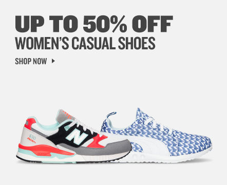Women's Casual Shoes Up to 50% Off. Shop Now.